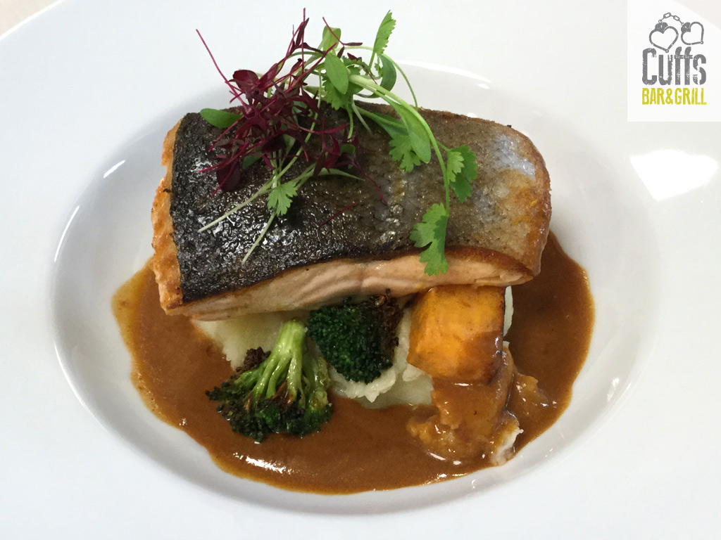 Irish Salmon with Roasted Vegetables