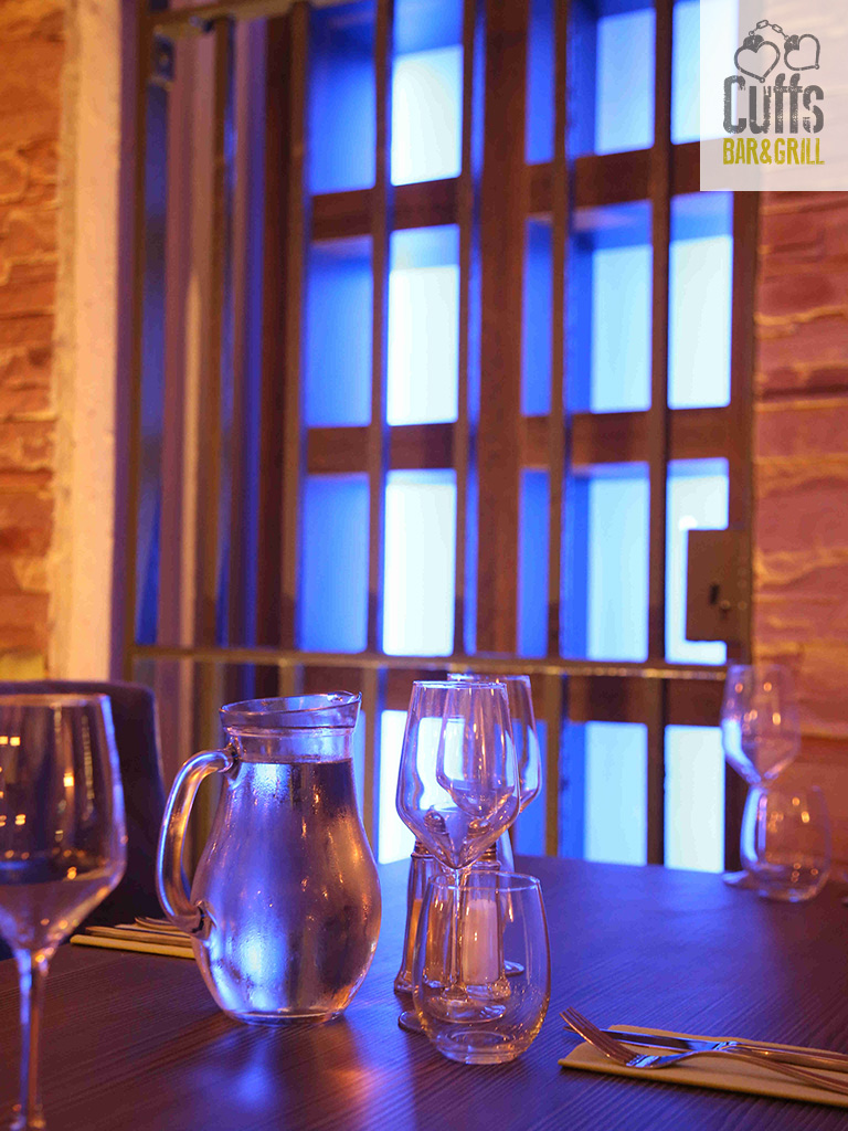 Venue Hire for every occasion available at Cuffs Bar & Grill at the Crumlin Road Gaol